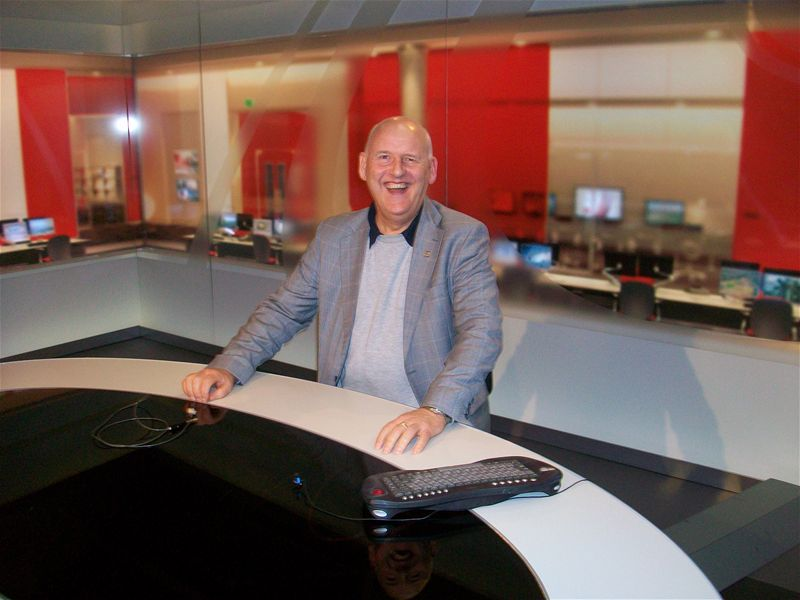 BBC Studio Visit 2010 - Eat your heart out Peter Levy
