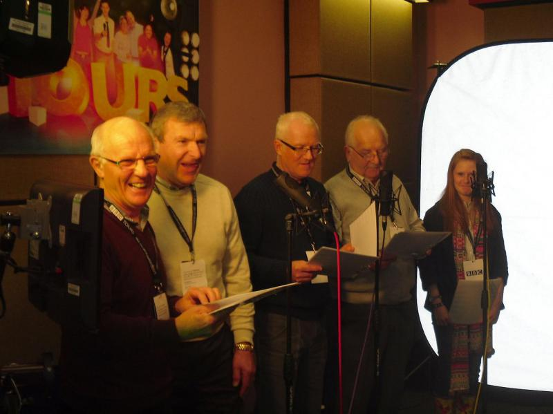 Visit to BBC Newcastle - The voices behind the mystery drama