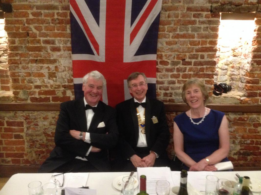 Our 30th Anniversary - Our guest speaker, SirJoe French gave a great talk was fascinating and appreciated by all.