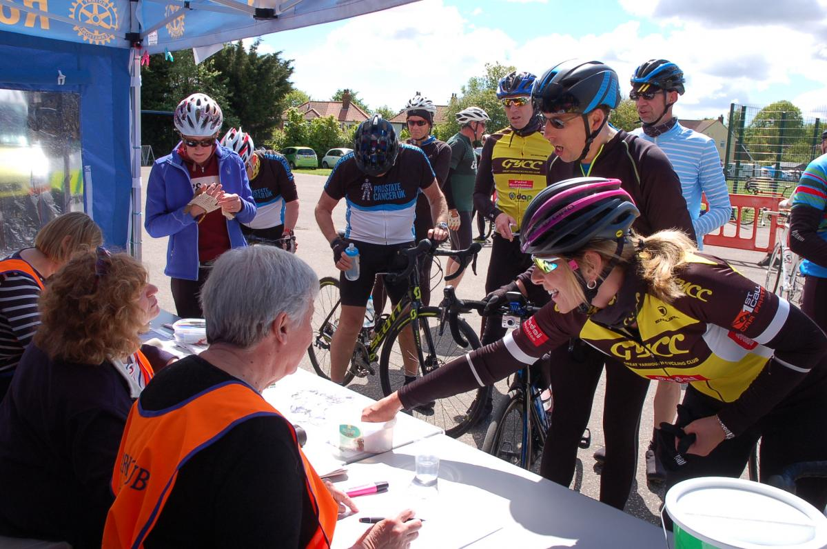 Beccles Cycle for Life - Pre booked check in