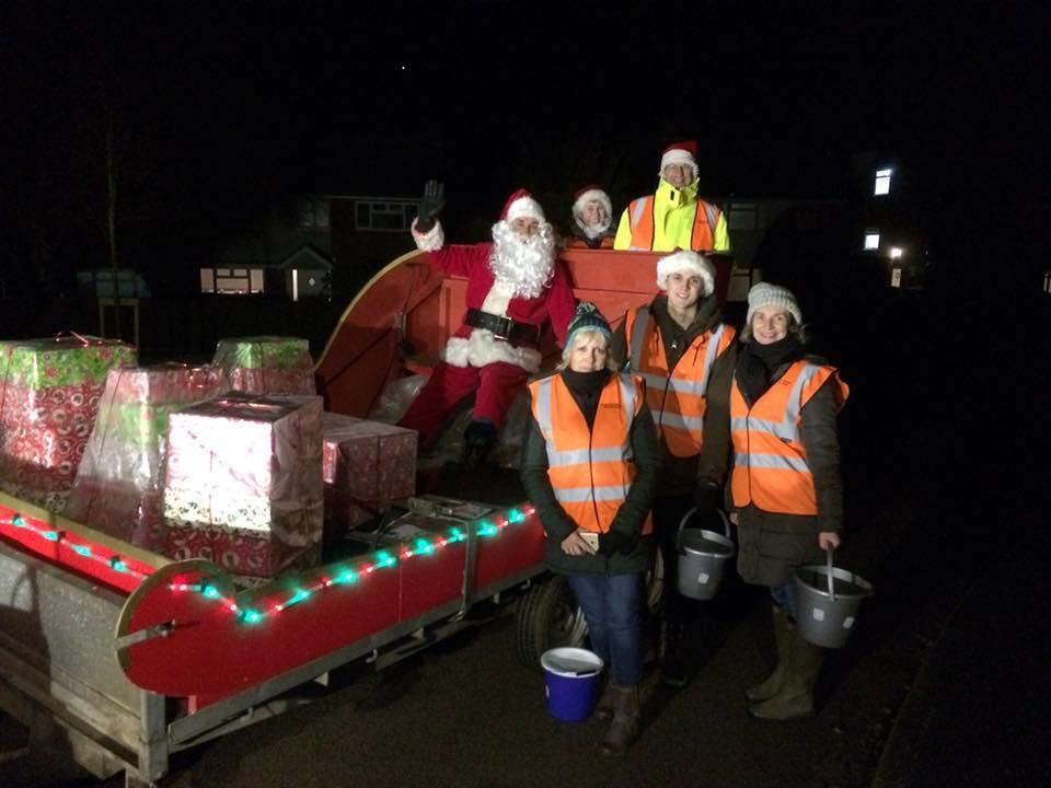 Santa's charity collections 2018 -