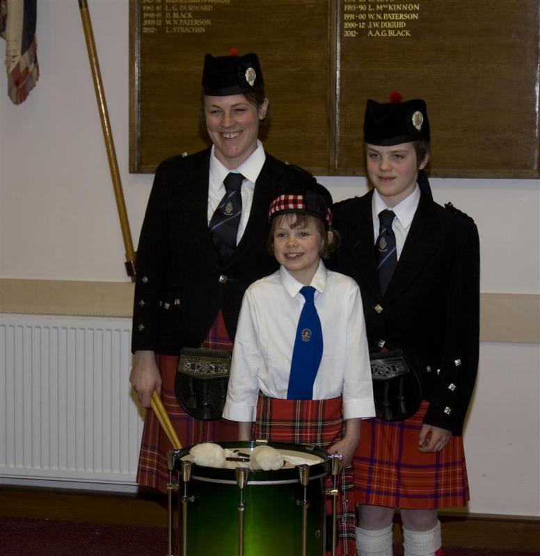 2013 Presentation to Banchory Pipe Band - BL 17 (Large)