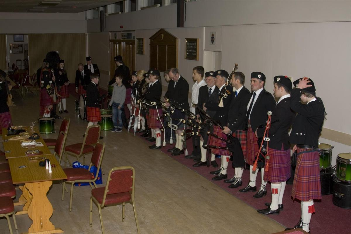 2013 Presentation to Banchory Pipe Band - BL1 (Large)