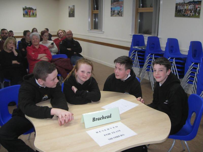 Primary School Quiz 2016 - BRAEHEAD