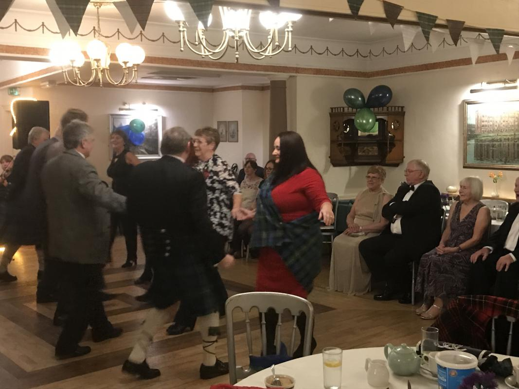 BURNS NIGHT CELEBRATION -