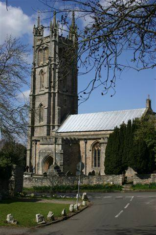 Our Club's local area of Nailsea and Backwell - St Andrews Church, Backwell