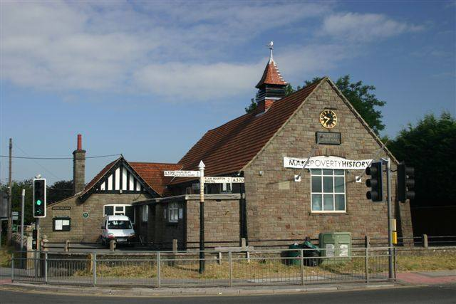 Our Club's local area of Nailsea and Backwell - Backwell Village Hall
