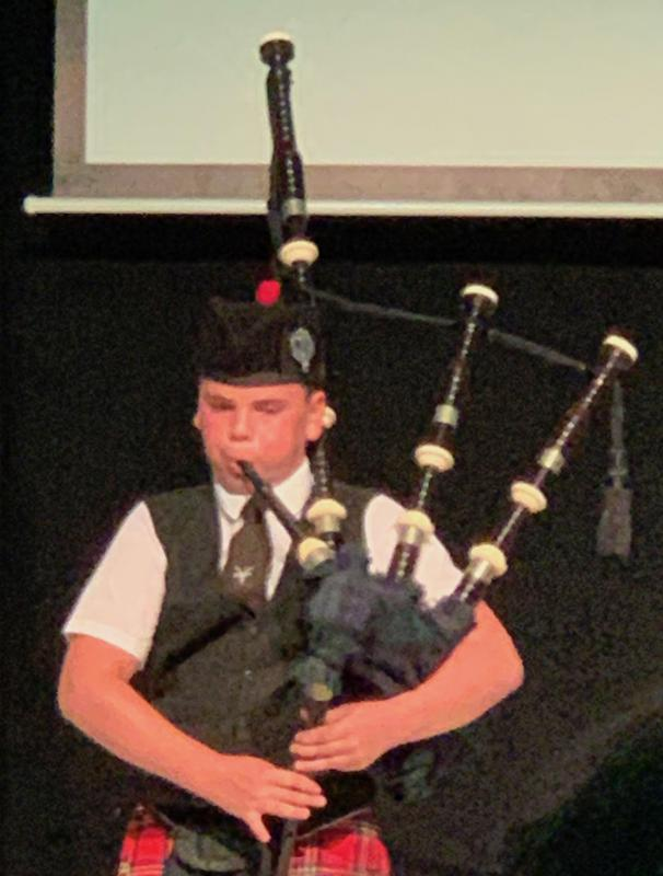 District Handover 2019 - Bagpipes