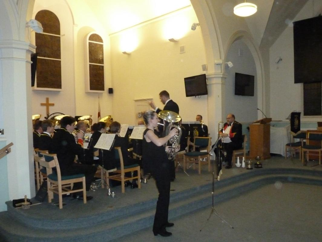 BAND CONCERT IN SANDAL METHODIST CHURCH -
