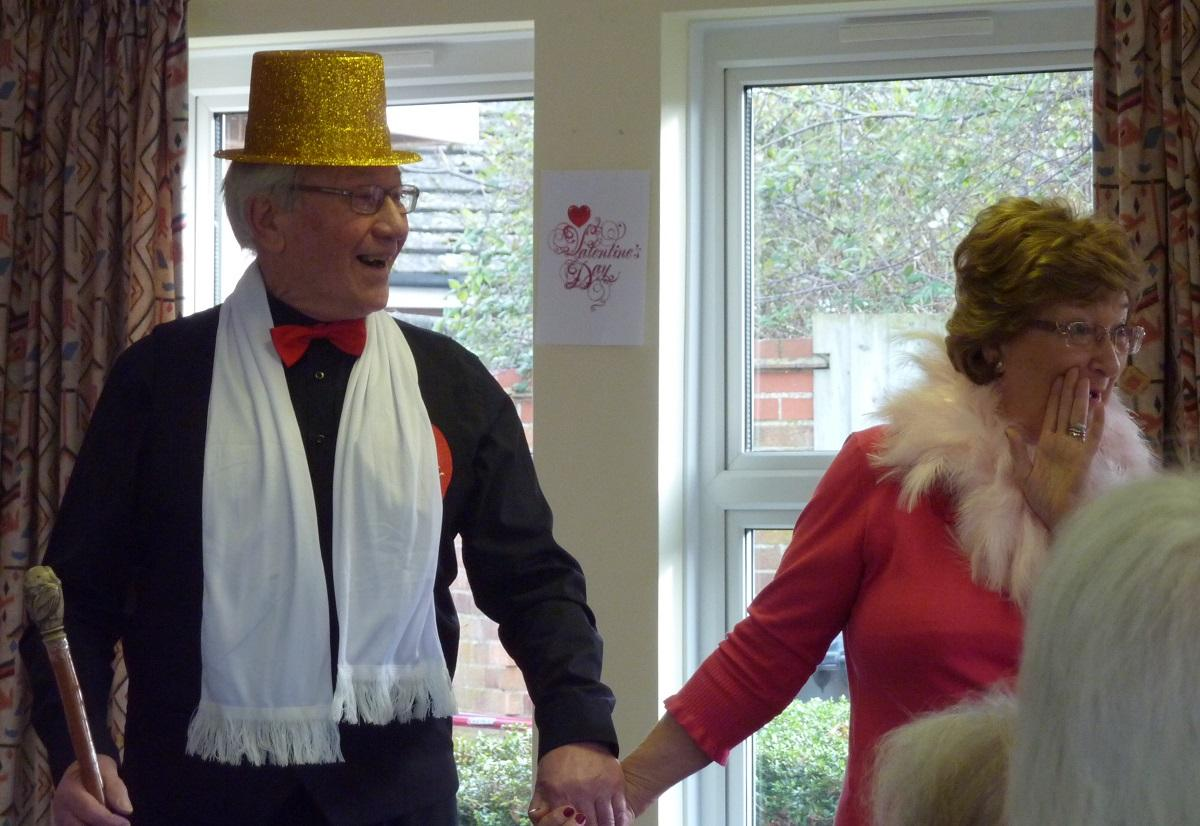 Feb 2018  Girton Memory Cafe - Romance - Wear Red - .