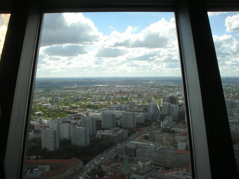 Our International visit 2015 - to Berlin - View from 203m from Berliner Fernsehturm