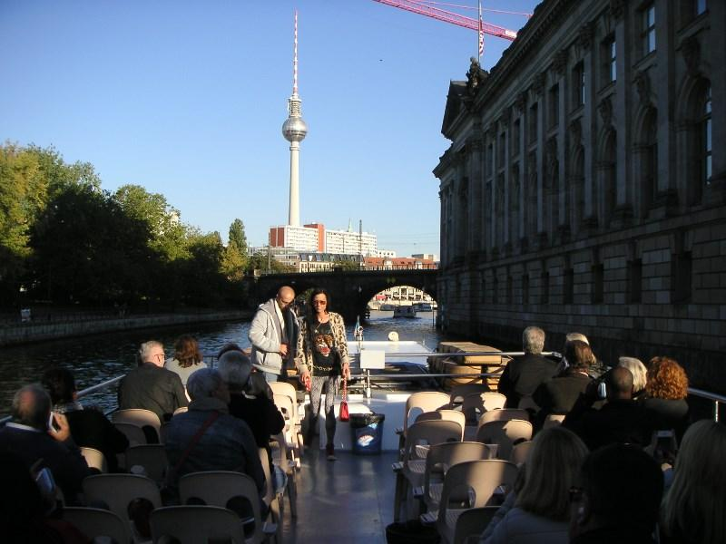 Our International visit 2015 - to Berlin - More from the boats trip
