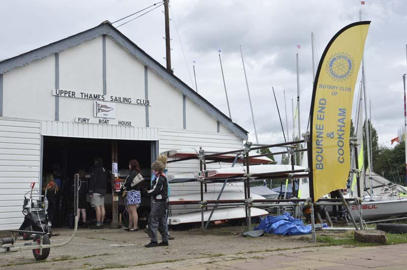 Life on the Upper Thames Waves! - A tour of the boat shed