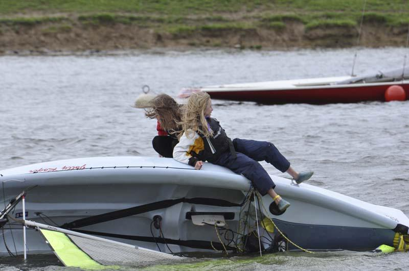 Life on the Upper Thames Waves! - means more capsize drill
