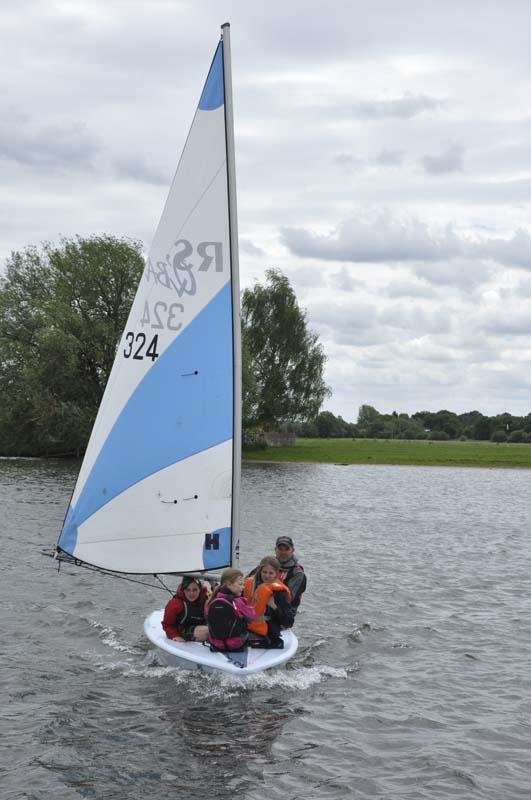 Life on the Upper Thames Waves! - Last ones safely in