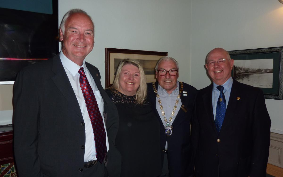 Speaker Evening - Jane with Sandy, Iain and Eric