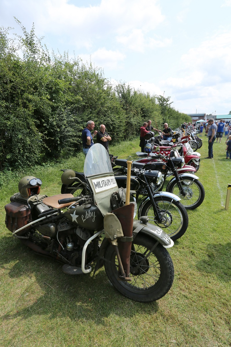 Doncaster Classic Car and Bike Show 2017 - Bikes 2