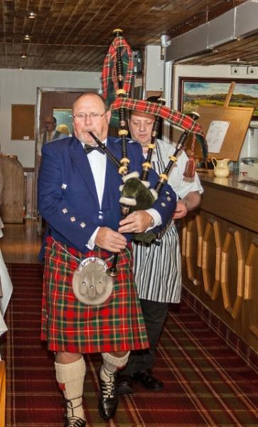 Burns Night at the Rotary - Bill McRobb