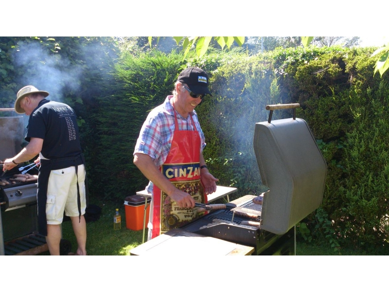 2016 Rotarians and Guests Summer Barbecue at Bill Robsons' - Bills Barbecue 2016 03