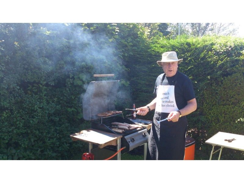 2016 Rotarians and Guests Summer Barbecue at Bill Robsons' - Bills Barbecue 2016 04