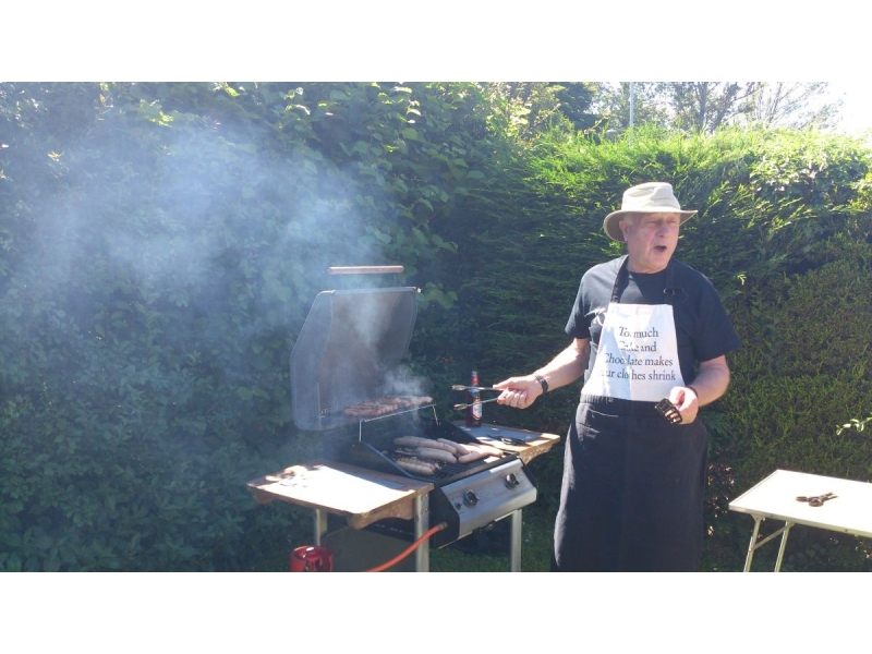 2016 Rotarians and Guests Summer Barbecue at Bill Robsons' - Bills Barbecue 2016 05