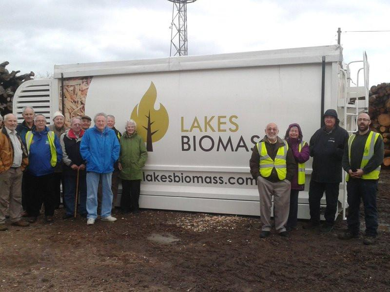 Visit to Lakes Biomass - Yes, it really was that cold !