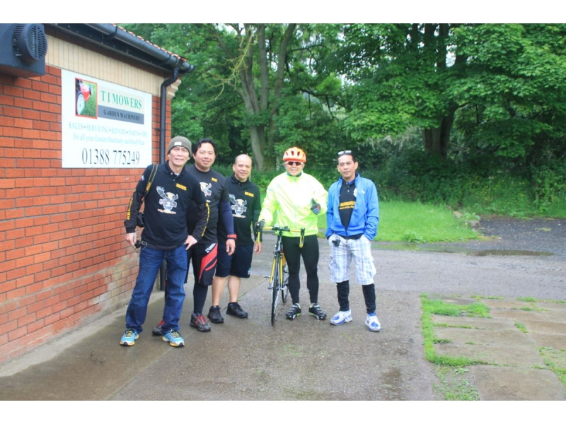 ROTARY RIDE 2016 - SUMMER CYCLE EVENT!!! - Bishop Auckland Rotary Ride 2016 44