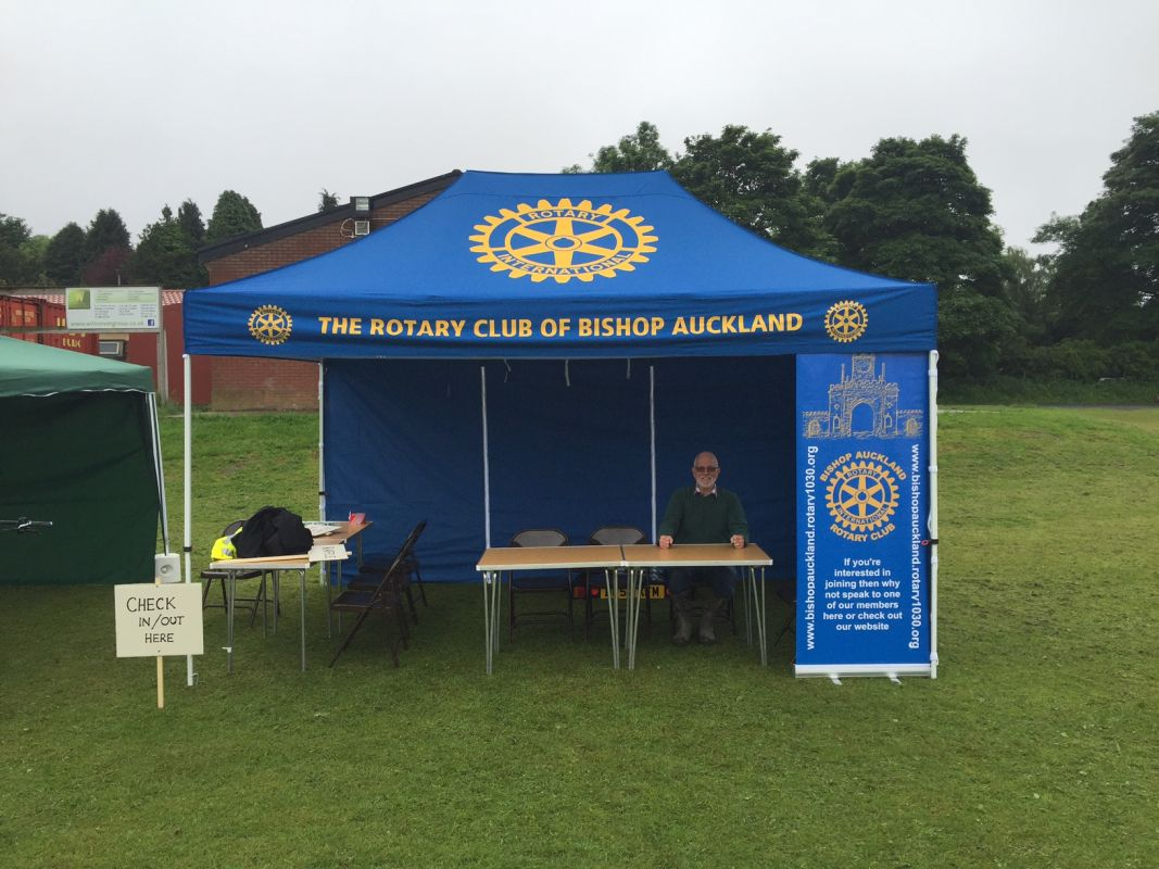 ROTARY RIDE 2016 - SUMMER CYCLE EVENT!!! - Bishop Auckland Rotary Ride 2016 DB 04