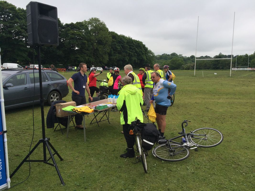 ROTARY RIDE 2016 - SUMMER CYCLE EVENT!!! - Bishop Auckland Rotary Ride 2016 DB 09