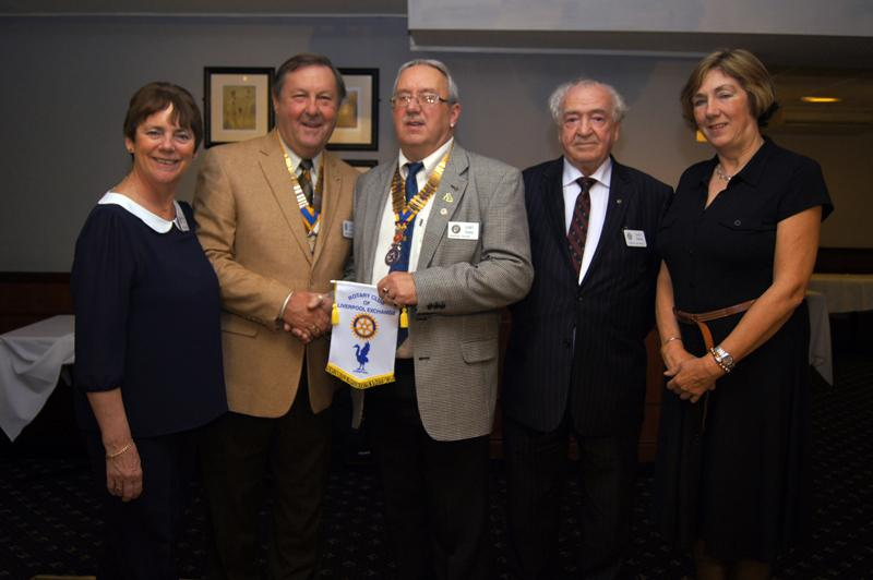 Visit to Rotary Club of Blackpool Palatine - Blackpool 161012 0002RS-W