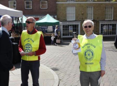 Rotary at work in the Community - Rotary offers free blood pressure checks in Andover to combat strokes.