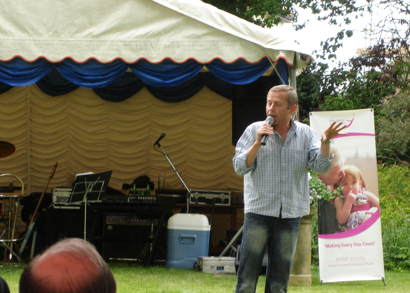 Blues at Burstead - June 2012 - A thank you from Little Havens