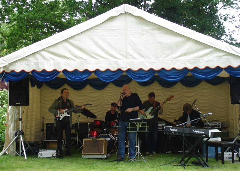 Blues at Burstead - June 2012 - Grapevine Blues Band playing the Blues