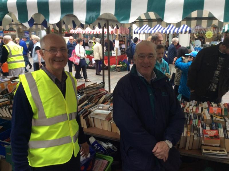 Rotary Fayre - Book stall 2