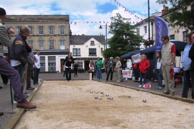 Boules in the Square: Photo Gallery -