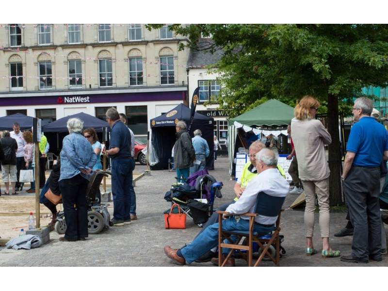 2016 Newbury Boules in the Square -