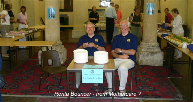 Wells Boules Tournament 2008 -  The Bouncers!