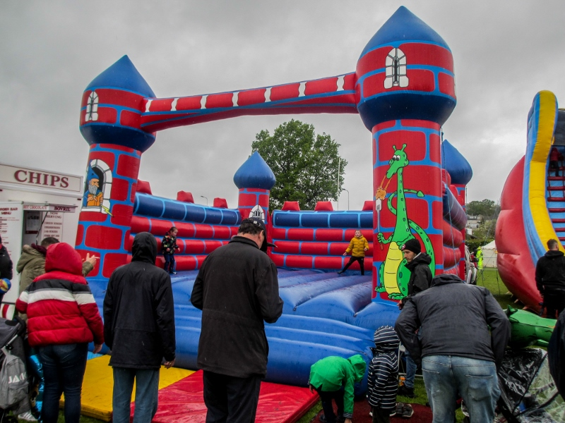 Penicuik in the Park on 25th May 2019 - Bouncy Castle