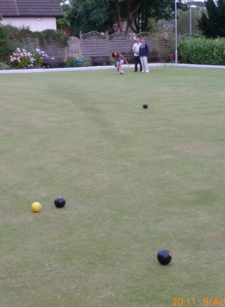 Rufford Park welcomes careful bowlers - And the winner is....Old Gimmer number 1