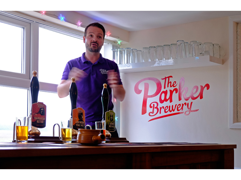 Out Night - The Parker Brewery - Brewery Owner Rick Parker
