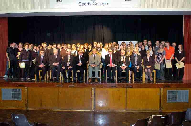 Schools Presentations Archive [Pre 2009] - President Mike Almond amongst the guests