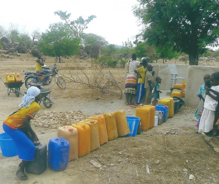 Success of Gamboura Water Wells Project -