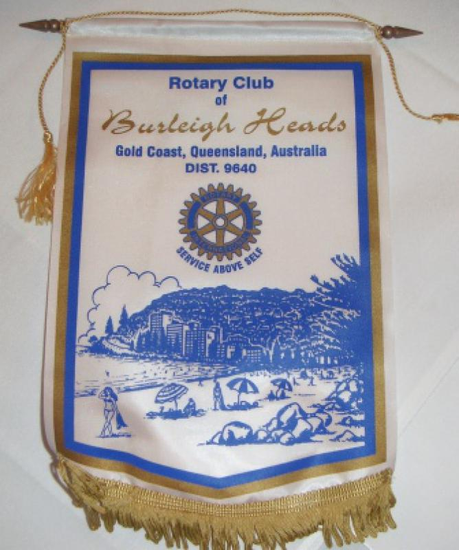 Banners - Burleigh Heads Banner - from the Gold Coast, Australia obtained by PP Geoff James during his holiday trip 2013.