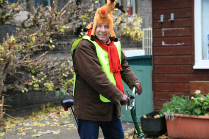 DEC 2013 Cambridge Car Parking - £6/day ONLY - Burman's Xmas cycling outfit, scouting at Downing