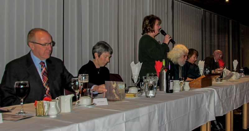 A Burns Supper with a difference - Top table