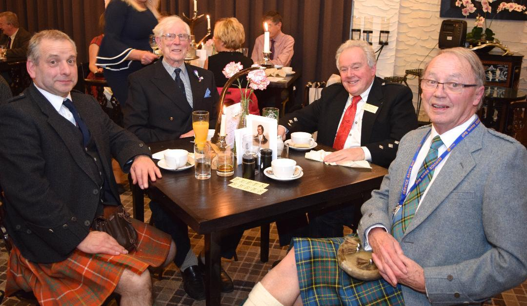 Annual Burns Supper - Thursday 25 January 18.00 -