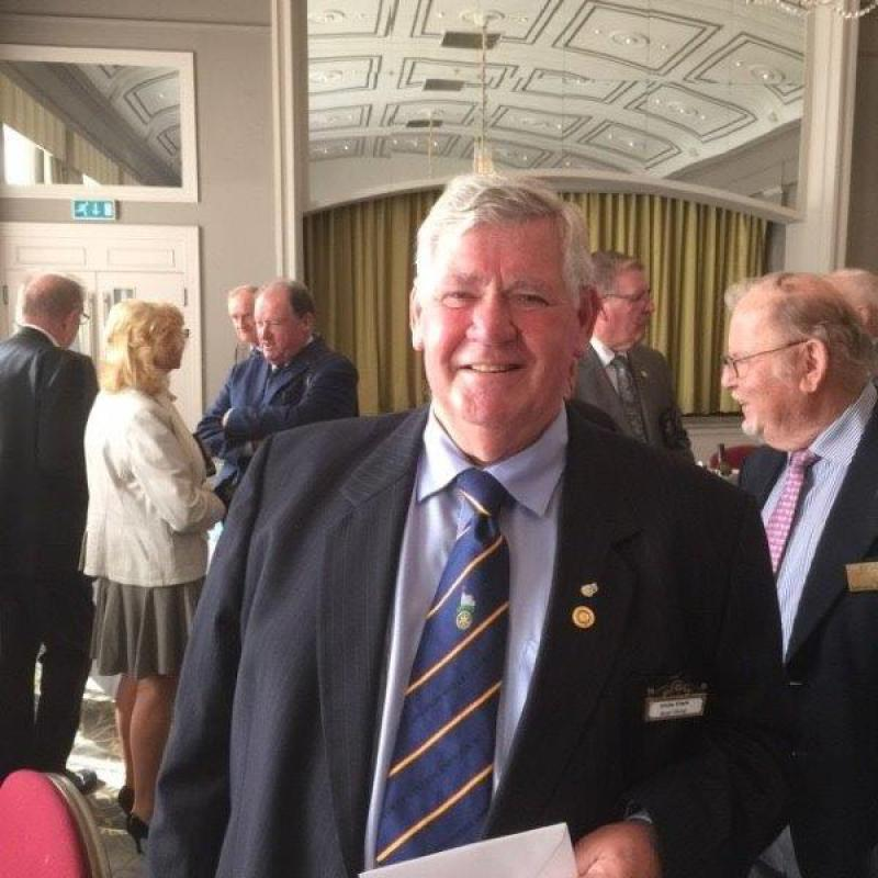 Chris clark's 50th Anniversary in Rotary - Chris Clark