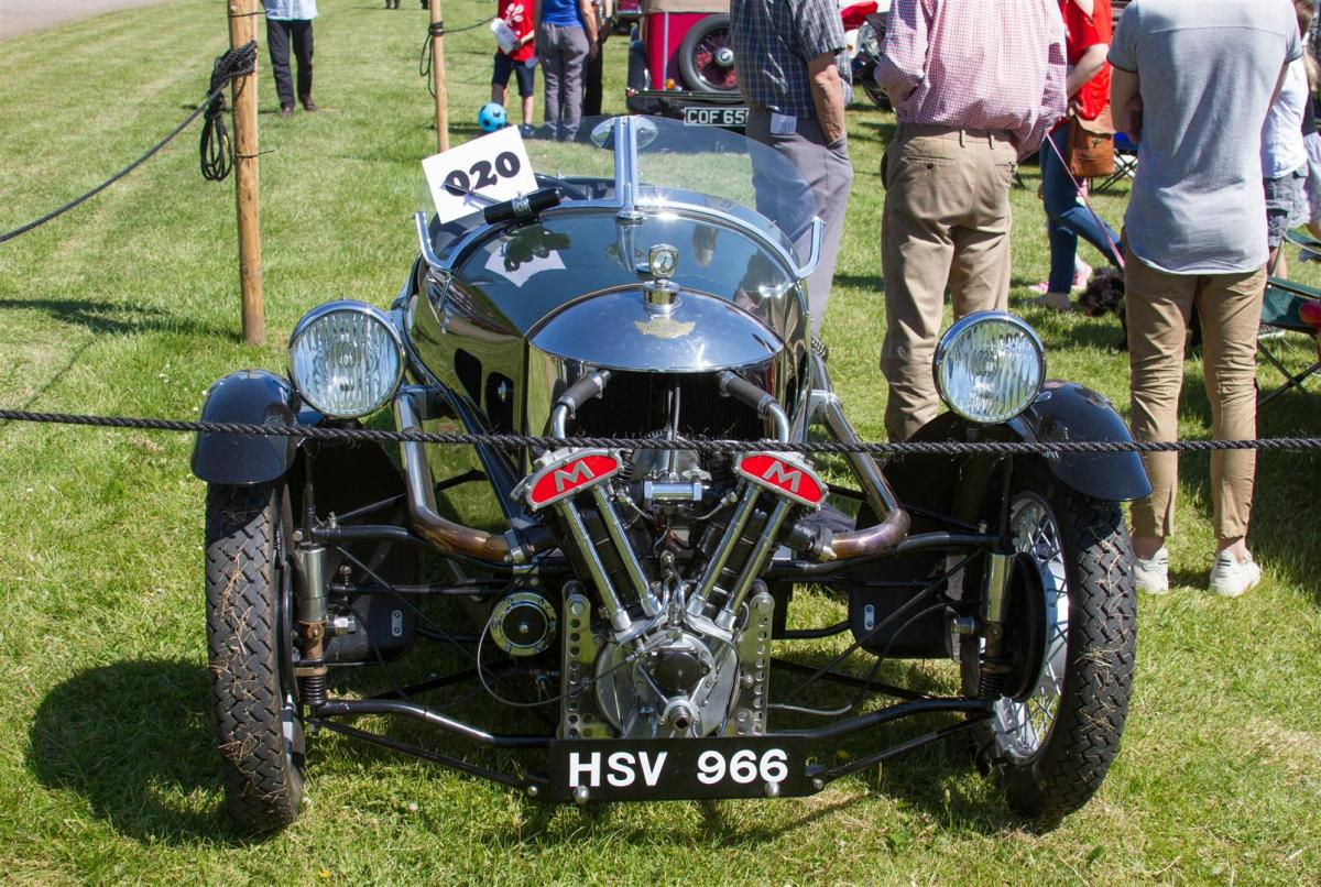 2018 Crathes Vintage Car and Motorcycle Rally - CCR16 (Large)