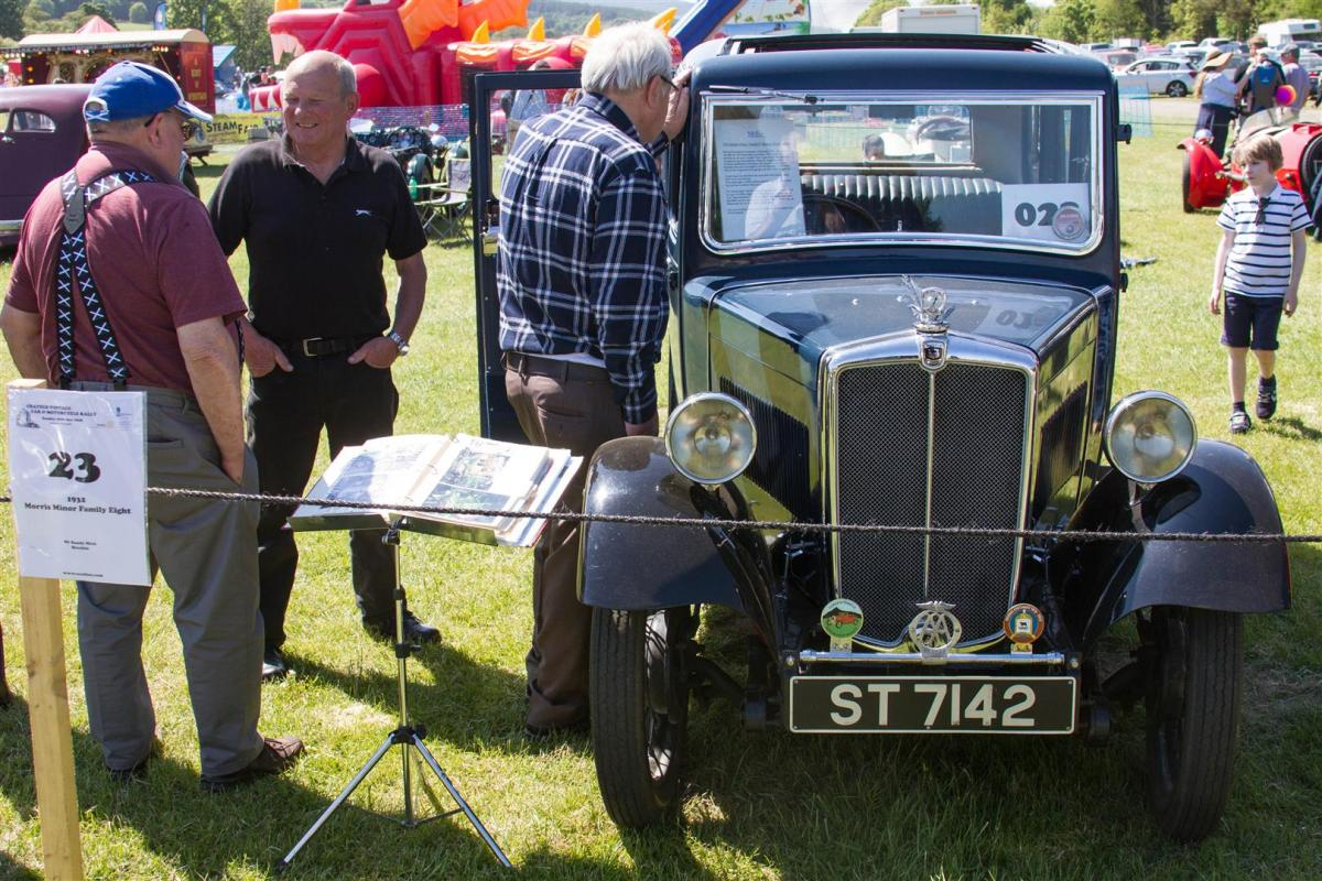 2018 Crathes Vintage Car and Motorcycle Rally - CCR18 (Large)