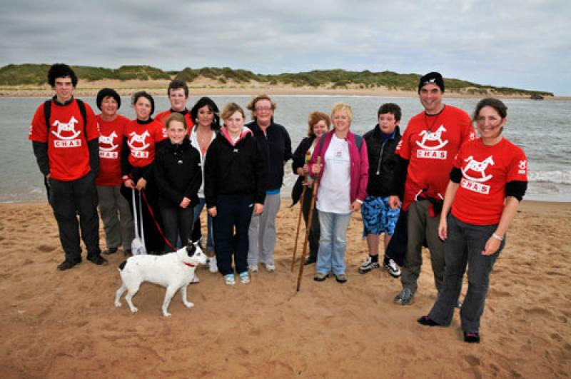 Club Activities, 2011-2012 - CHAS-supporters-at-TheSandwalk